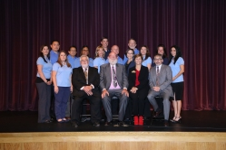The City of Eastvale Staff and Council  Photo Courtesy:  SD Images