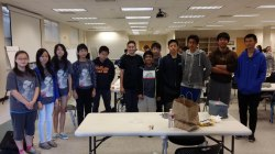 Chaparral Middle School competitors at the MATHCOUNTS Regional Competition. (Photo courtesy: Kelli Gile)