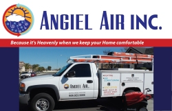 angiel-air-hvac-work truck