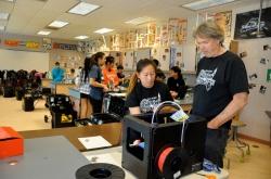 technology-teacher-allin-everman-and-3d-printer