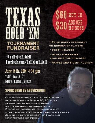 Clark Riddell Fundraiser