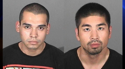 Arnulfo Rodarte, left, and Sylvester Curameng (Photo Courtesy:  Los Angeles County Sheriff's Department)