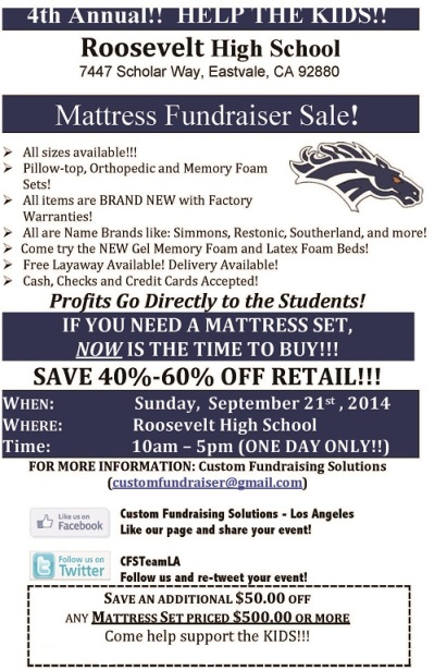 roosevelt-high-school-mattress-sale-fundraiser