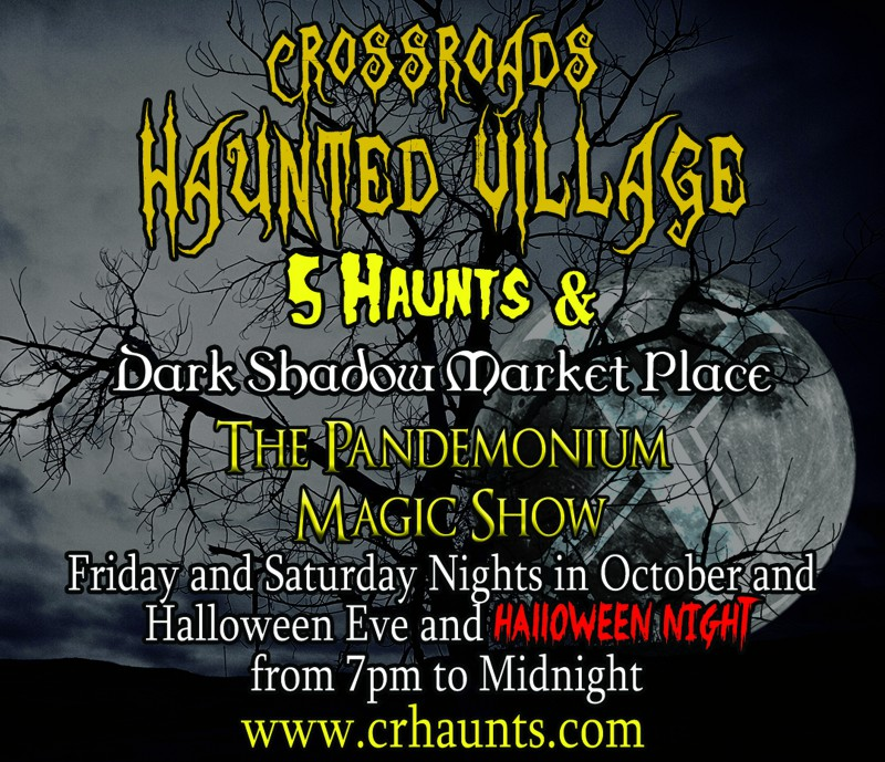 Scary Places In Riverside Ca: Corona: Scary Good Fun At Crossroads Haunted Village