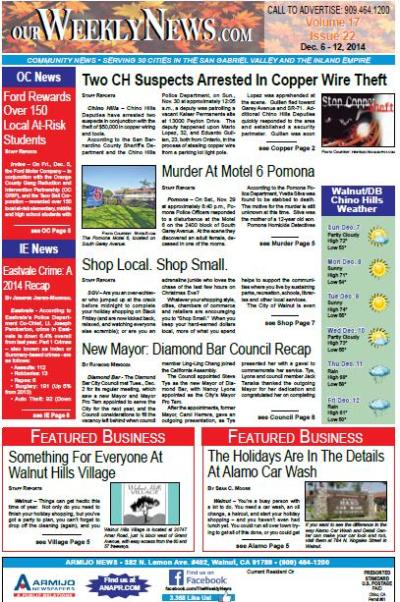 Our Weekly News 12.6.14