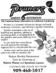 pruners garden restoration
