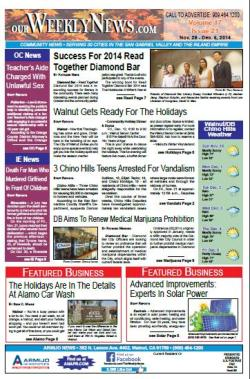 The Weekly News 11.29.14 issue