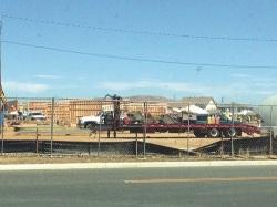 Ronald Reagan Elementary under construction last October.