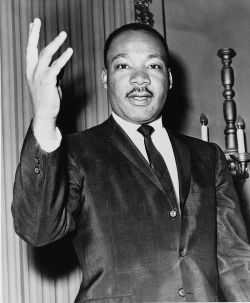 Martin Luther King, Jr. in 1964. (Photo Courtesy:  Wikipedia)