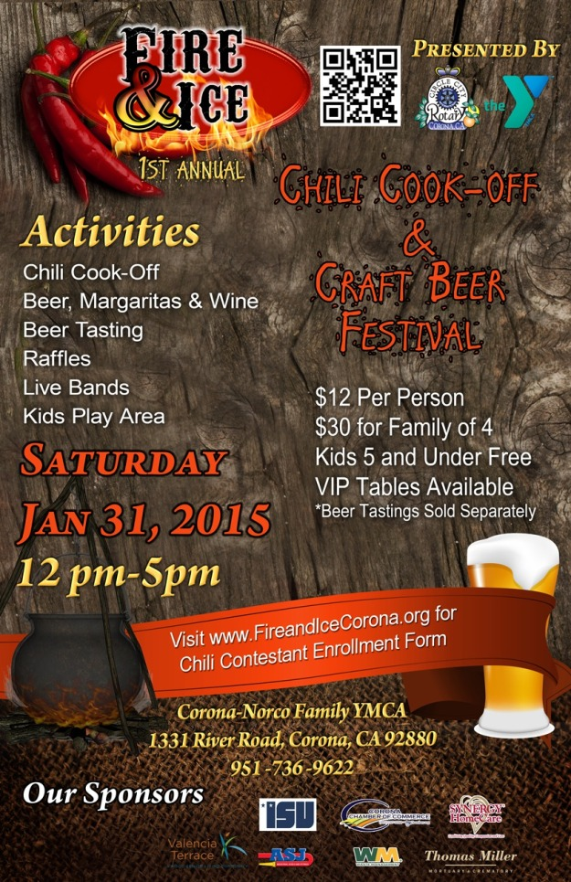 Norco-Fire and Ice 1st Annual Chili Cook-Off and Craft Beer Festival