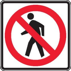 no=pedestrians