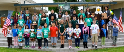 Photo Courtesy:  Kelli Gile Evergreen Elementary is the recipient of the 2015 Civic Learning Award of Excellence.