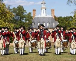 Photo Courtesy:  History.org A reenactment at Colonial Williamsburg