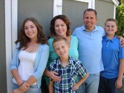 Photo Courtesy:  Dietrich Family (L-R) The Dietrich Family, Emma, Sarah, Luke, Trevor and Justin
