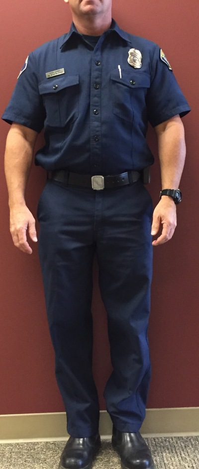 Photo Courtesy:  CVFD This is an official Chino Valley Fire District Uniform