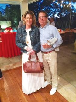 Photo Courtesy:  LASD Detective Lyle Raymond and his wife, Mary Christine.