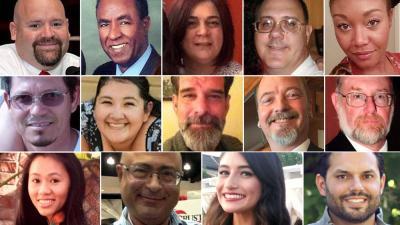 Photo courtesy: SBCS In memory of the victims: Shannon Johnson, 45, Los Angeles (DOB: 03/06/70), Bennetta Bet-Badal, 46, Rialto (DOB: 03/08/69), Aurora Godoy, 26, San Jacinto (DOB: 02/01/89), Isaac Amanios, 60, Fontana (DOB: 06/29/55), Larry Kaufman, 42, Rialto (DOB: 08/12/73), Harry Bowman, 46, Upland (DOB: 06/08/69), Yvette Velasco, 27, Fontana (DOB: 04/03/88), Sierra Clayborn, 27, Moreno Valley (DOB: 06/15/88), Robert Adams, 40, Yucaipa (DOB: 05/02/75), Nicholas Thalasinos, 52, Colton (DOB: 10/14/63), Tin Nguyen, 31, Santa Ana (DOB: 04/06/84), Juan Espinoza, 50, Highland (DOB: 06/24/65), Damian Meins, 58, Riverside (DOB: 02/02/57), Michael Wetzel, 37, Lake Arrowhead (DOB: 04/29/78)