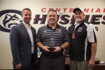 Photo Courtesy of CNUSD Centennial Football Coach Named Coach of the Year