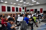Photo courtesy: Kelli Gile Hundreds of Chaparral Middle School students participate in music education courses each year. Shown: Orchestra in rehearsal with director Greg Rochford.