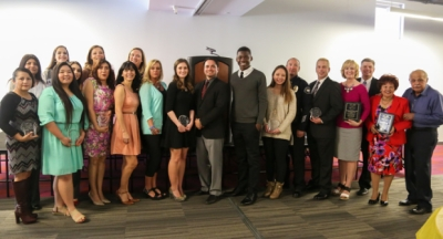 Photo courtesy: CNUSD Seven students and teachers from Corona Norco Unified School District were honored at the 18th Annual Unity Awards.