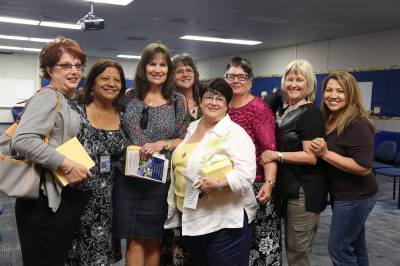 Photo courtesy: CNUSD On May 3, Corona Norco Unified School District 2016 Retirees were recognized and celebrated for their service to the district and for their dedication to CNUSD students. CNUSD reported that the retirees provided a combined total of 1600 years of service.