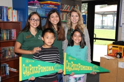 Photo courtesy: Kelli Gile Cal Poly Pomona Women in Engineering and Project Lead the Way visit Maple Hill Elementary for a day of STEM education.