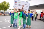 Photo courtesy: Kelli Gile Collegewood Elementary is a grand prize winner in the Grades of Green trash-free lunch challenge.