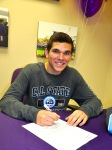 Photo courtesy: Kelli Gile Diamond Bar High School senior Tony DiDonato signed to play soccer at California State University, San Bernardino.