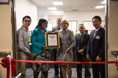 : CNUSD officials celebrate the Parent Center officially opening last month