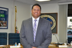 Photo courtesy: Kelli Gile The WVUSD Board of Trustees unanimously approved Reuben Jones as the new principal at Diamond Bar High School.