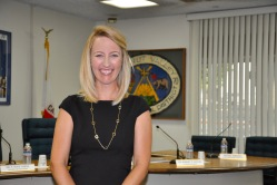 Photo courtesy: Kelli Gile The Board of Trustees appointed Petria Gonzales as the new assistant principal at Walnut High School.