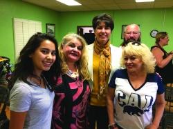 Photo courtesy: Vanessa Wiarco Senator Leyva with residents and Cal Poly Pomona students.