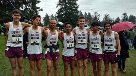 Roosevelt High NXN Cross Country team