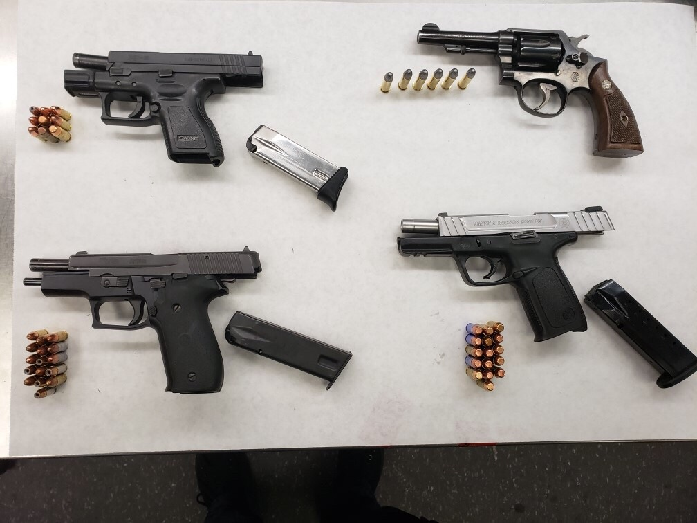 Major Crimes Task Force arrest three gang members with 4